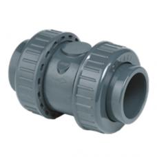 Обратный клапан с муфтовыми окончаниями, пружиной из нержавеющей стали, уплотнение EPDM
