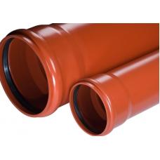 Труба безнапорная НПВХ для наружной канализации